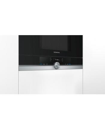 Kuchenka mikrofalowa Siemens BE634LGS1 (900W/Czarny)