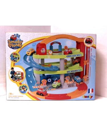SMOBY Vroom Planet Duży garaż