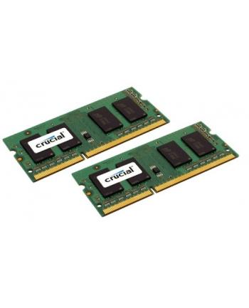 Crucial DDR3 SODIMM 32GB/1600(2*16GB) Low Voltage CL11