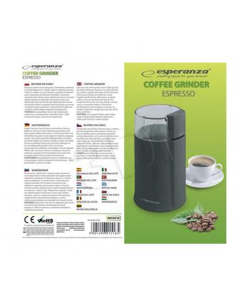 Młynek do kawy Esperanza ''Espresso'' czarny