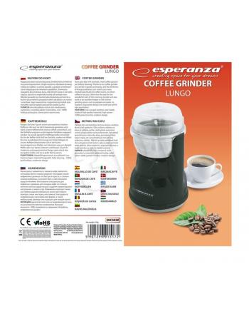 Młynek do kawy Esperanza ''Lungo'' czarny