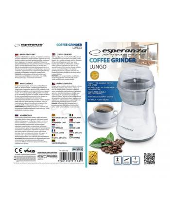 Młynek do kawy Esperanza ''Lungo'' biały