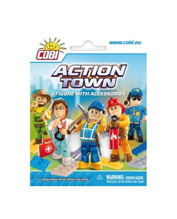 COBI Action Town Figurka z akcesoriami