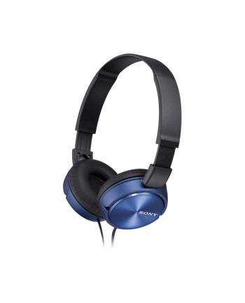 Słuchawki Sony nauszne MDR-ZX310AP (niebieskie)