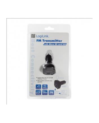 Transmiter FM z obsluga MP3 i slotem microSD