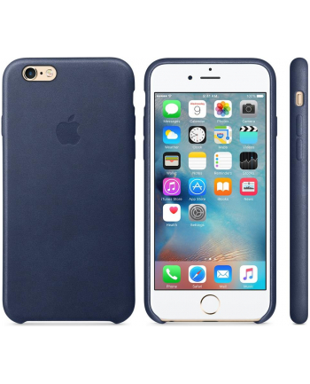 iPhone 6s Leather Case Midnight Blue  MKXU2ZM/A