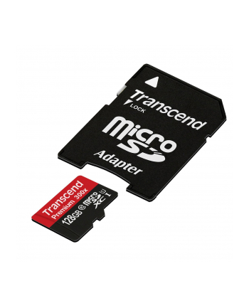 Karta pamięci Transcend microSDXC 128GB Class 10, UHS1 + Adapter