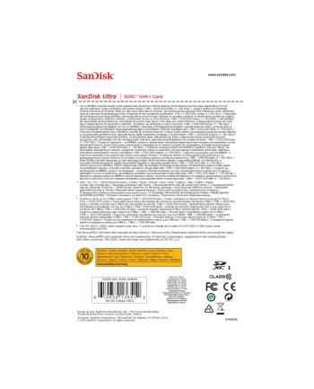 SanDisk karta pamięci Ultra SDXC 128GB Class 10 UHS-I, Odczyt: do 80MB/s