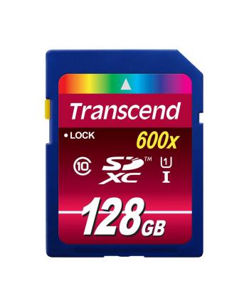 Transcend karta pamięci SDXC 128GB, Class10 UHS-I, 600x