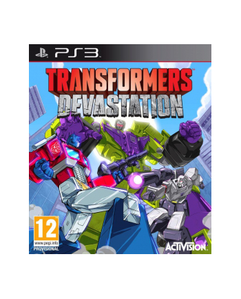 CD Projekt Gra TRANSFORMER'S DEVASTATION (PS3)
