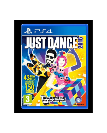 UBISOFT Gra JUST DANCE 2016 (PS4)