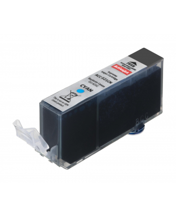 ActiveJet ACC-521CN tusz cyan do drukarki Canon (zamiennik Canon CLIC-521C) Supreme/ chip
