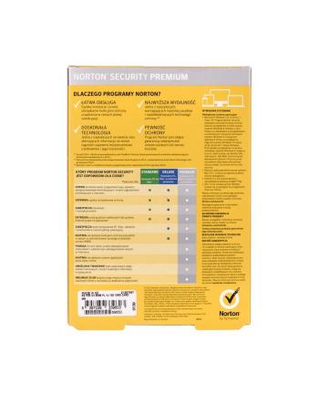 Symantec NORTON SECURITY PREMIUM 3.0 25GB PL 1 USER 10 DEVICES 12MO CARD MM