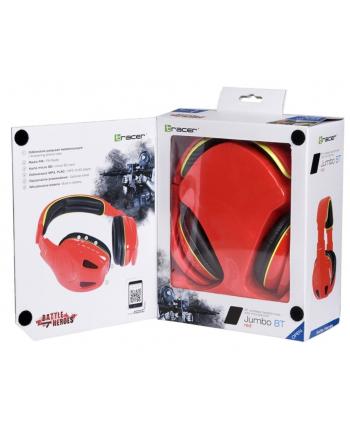 Słuchawki TRACER JUMBO RED BT 2,1 10m