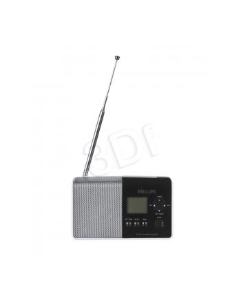 Radio przenośne Philips AE1850/00 (FM MW Czarno-srebrno-biały)
