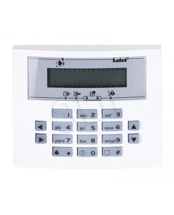 SATEL INT-KLCDS-BL Manipulator LCD (niebieskie podświetlenie)