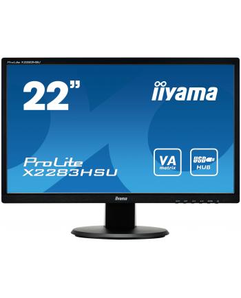 21,5 IIyama PL X2283HSU-B1DP, 5ms,VGA,DVI,DP,Speaker