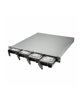 NAS QNAP TS-463U-RP-4G 0/4HDD 1U, AMD 4*2.0GHz, 4GB, 4bay