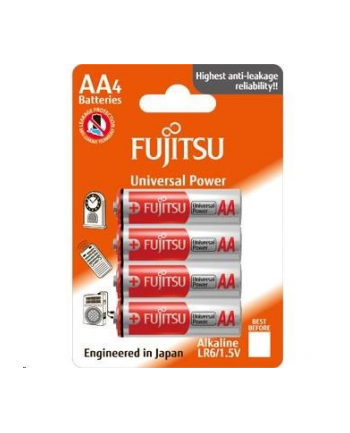 Fujitsu Alkaline Universal Power LR6/AA 4 Pcs Blister