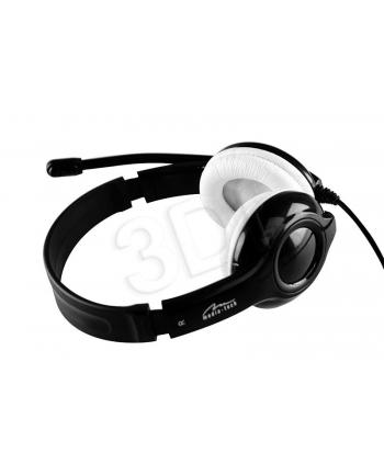Media-Tech EPSILION USB - Słuchawki stereo z mikrofonem, złącze USB, pilot na kablu