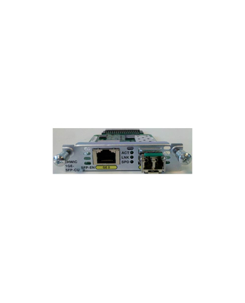 Cisco 1-port GE WAN NIM  dual-mode RJ45 & SFP