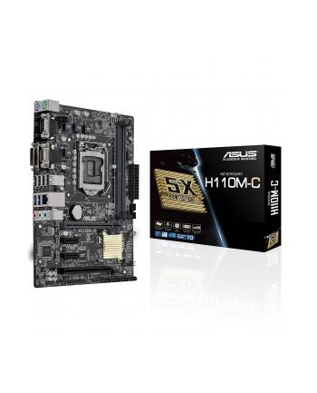 MB Intel 1151 ASUS H110M-C, M-ATX, D4 2133 USB 3 SATA3