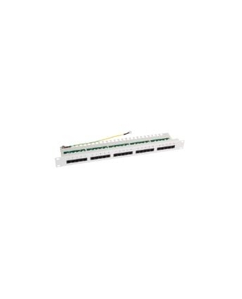 LOGILINK- Patchpanel 19'' kat.3/Voice/ISDN 25 porty, szary