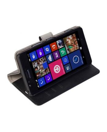 Etui Boras FolioWallet do Microsoft Lumia 950 - Czarne