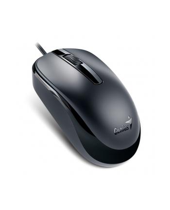 Mysz optyczna przewodowa Genius DX-120, czarna