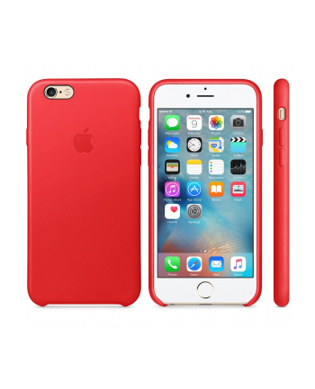 iPhone 6s Leather Case RED            MKXX2ZM/A