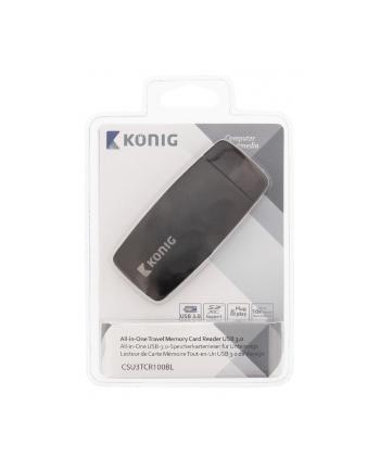 Koenig uniwersalny podróżny czytnik kart pamięci USB 3.0