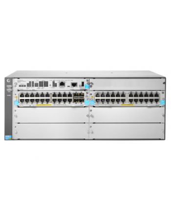 Hewlett Packard Enterprise 5406R 44GT PoE+ / 4SFP+ v3 zl2 Swch JL003A - Lifetime Warranty
