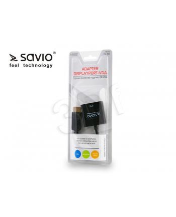 Adapter DisplayPort - VGA SAVIO CL-90