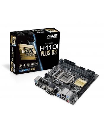 Płyta ASUS H110I-PLUS D3 /H110/SATA3/USB3/PCIe3.0/1151/mITX