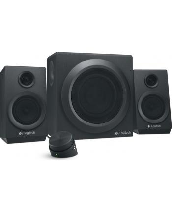 Logitech Z333 2.1 Multimedia Speakers, 40W RMS, Headphone jack: 3.5mm, Black