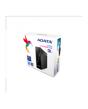 A-DATA External Hard Drive HM900 3TB 3.5'' USB3.0 Black Color box EU