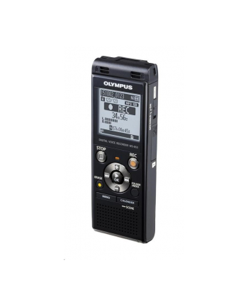Dyktafon Olympus WS-853 Digital Voice Recorder with MP3 Player, 8GB internal memo, inc. Rechargeable Ni-MH Batteries and Case, Black