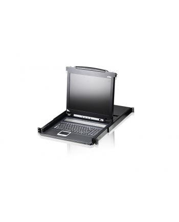 ATEN KVM 8 port LCD 17'' + keyboard + touchpad PS/2 19''