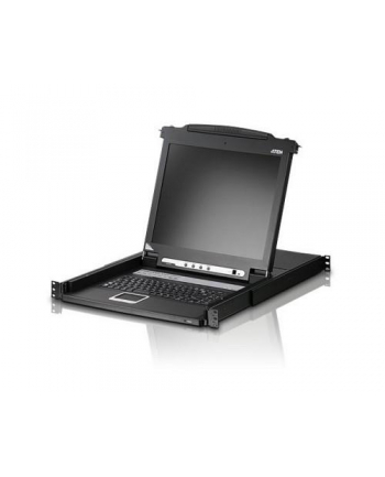 ATEN KVM 8 port LCD 17'' + keyboard + touchpad PS/2 19''