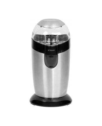 Młynek do kawy Bomann KSW 445 (120W Udarowy srebrno-czarny)