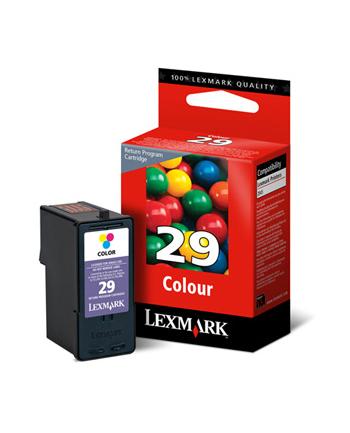 Lexmark Tusz nr 29 - 18C1429E Kolor