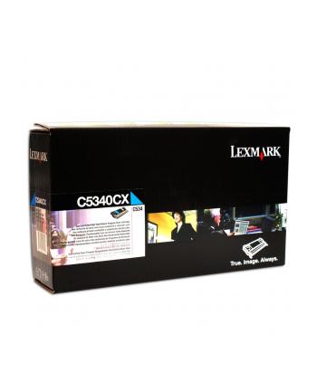 Toner Optra C534 Cyan    7k  C5340CX