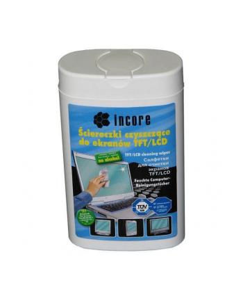 Ściereczki czyszczące INCORE 100szt. do TFT/LCD