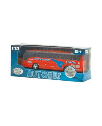DROMADER Autobus metalowy z dźwiękami