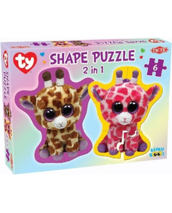 TACTIC Ty Beanie Boos Shape Puzzle