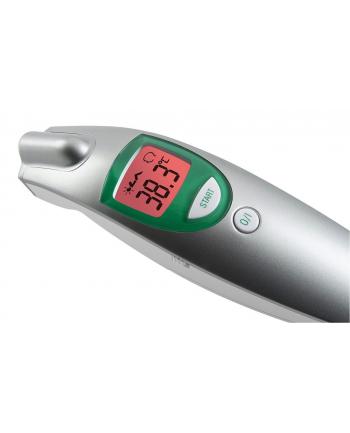 Markowy Termometr bezdotykowy Medisana 76120 Infrared FTN (pomiar temp: ciała, otoczenia, płynów, alarm gorączkowy, pamięć 30 pomiarów)