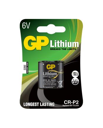 GP Bateria fotograficzna CR-P2 blister 1szt.