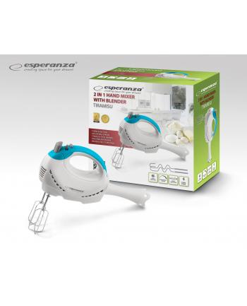 Esperanza EKM010 Mikser ręczny + Blender 2 w 1 - TIRAMISU