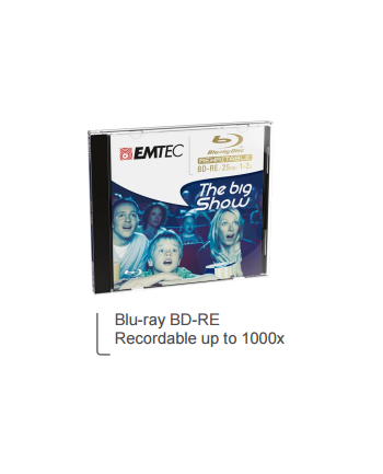 Emtec disc Blu ray BD-RE 25GB 1-2x JC Giftbox (5)