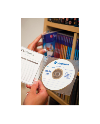 Verbatim BluRay BD-R XL [ jewel case 5   100GB   4x   do nadruku ]